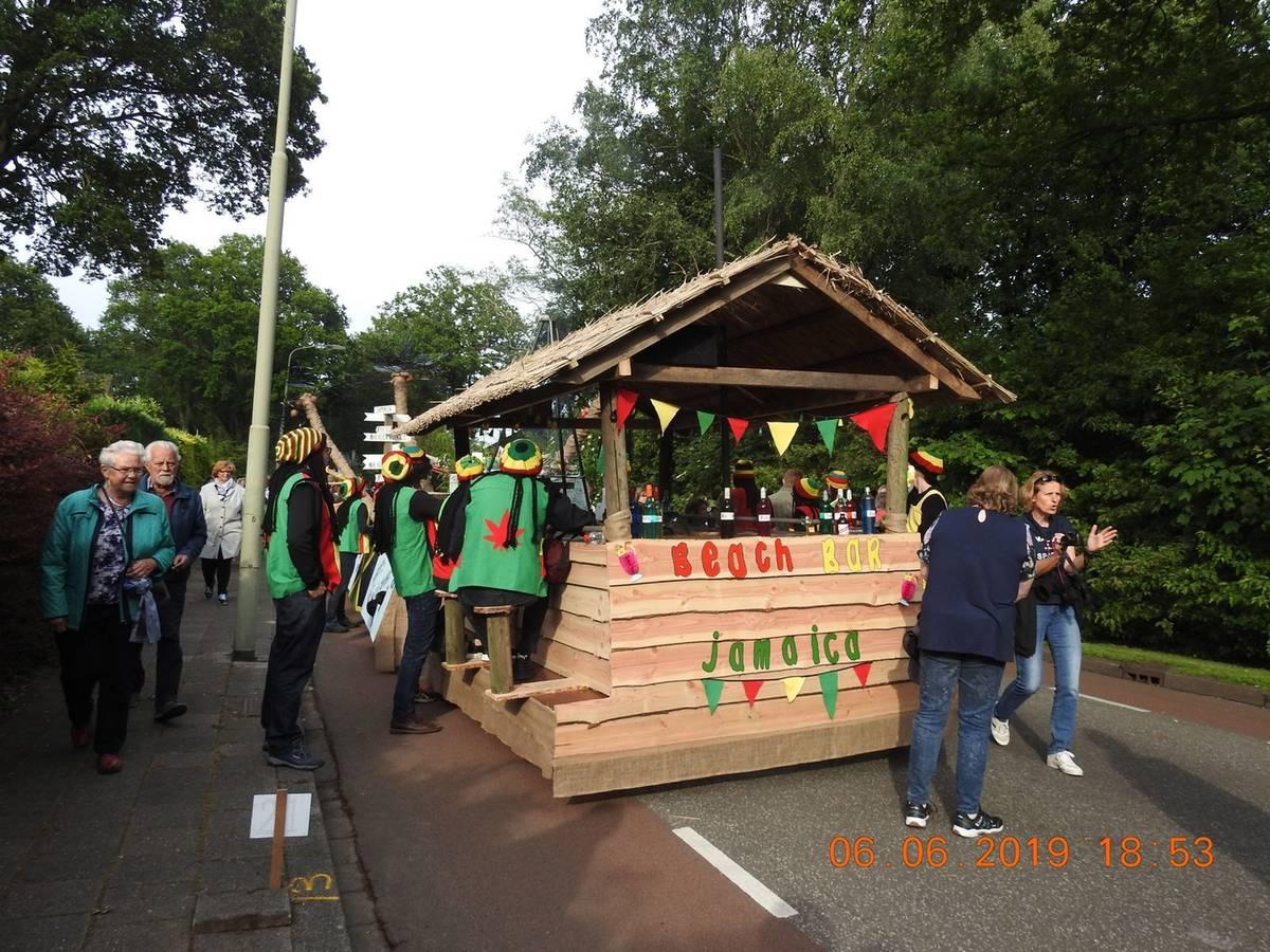 Beilervaart heeft de mooiste wagen van de Lanijto-parade